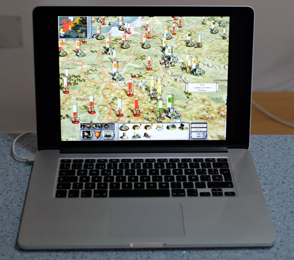 Medieval Total War corriendo en un Mac